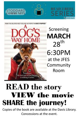 A Dog's Way Home Book-To-Movie Event